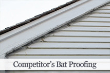 Competitor's Bat Proofing