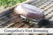 Competitor's Attic Fan Screening